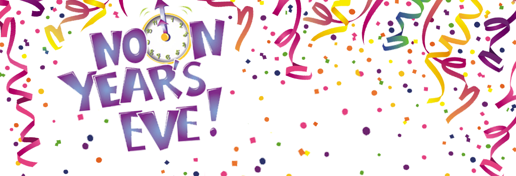 Noon Year's Eve | Friday, December 29 at 11:00 a.m.