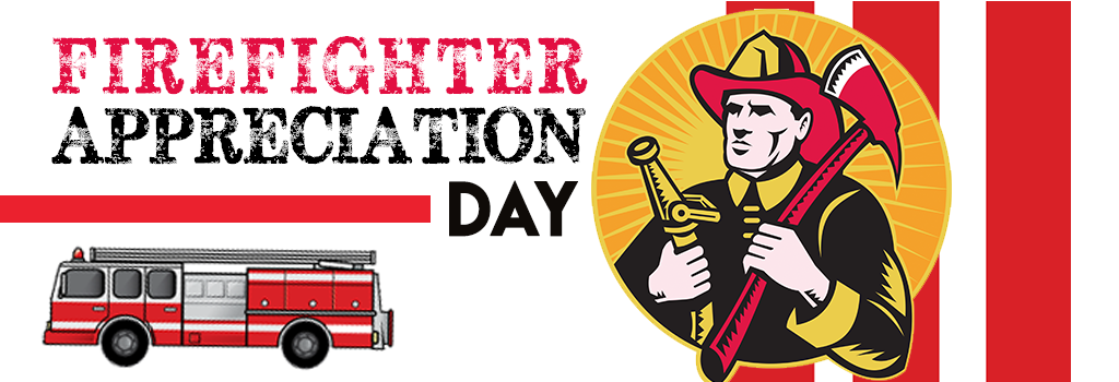 Firefighter Appreciation Day | Wednesday, May 4 @ 10:30 a.m.