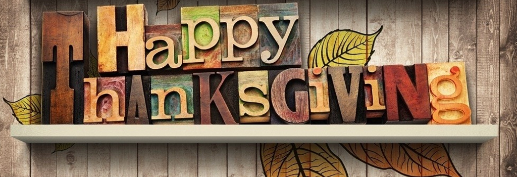 The Library will be closed Thursday, November 23 for Thanksgiving