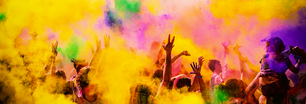 Festival of Colors | Friday, March 10 at 6:30 p.m.