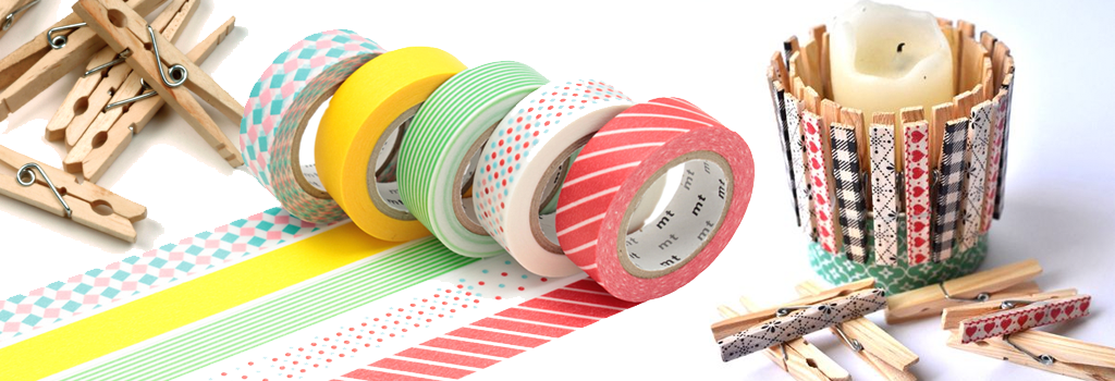 Very Pinteresting: Washi Tape Candle Holders | Thursday, March 9 at 7:00 p.m.