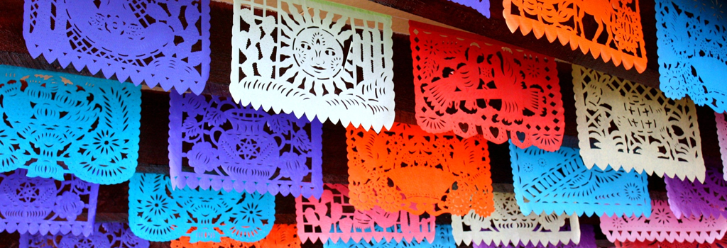 Papel Picado Pennants and the National Flags of Latin America | Tuesday, September 26 at 7:00 p.m.