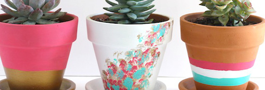 Painting Flower Pots and Garden Stakes | Wednesday, April 18 at 7:00 p.m. | Adults only!