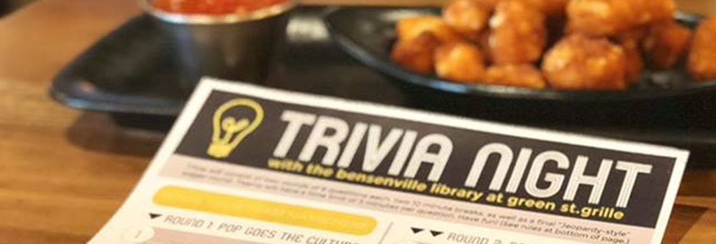 Trivia Night at the Green Street Grille | Monday, December 3 at 7:00 p.m.