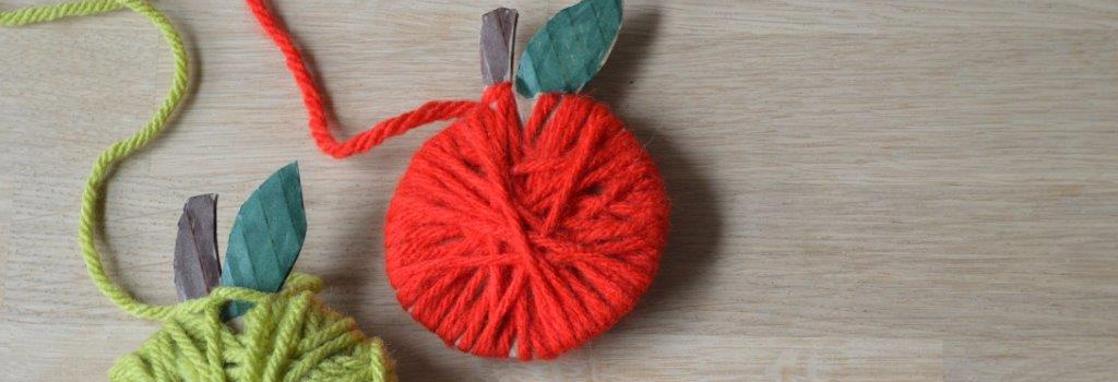 DIY Yarn Apples | Wednesday, September 19 at 7:00 p.m. | Adults only!