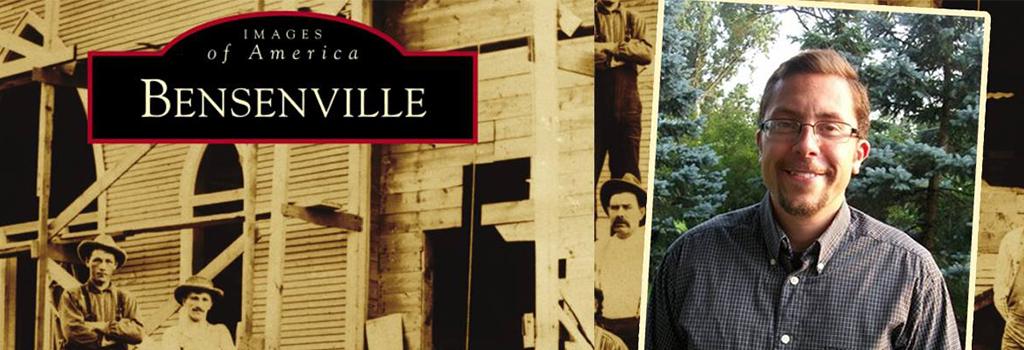 Bensenville Reads: Jonathan W. Sebastian   Tuesday, October 23 at 7:00 p.m.